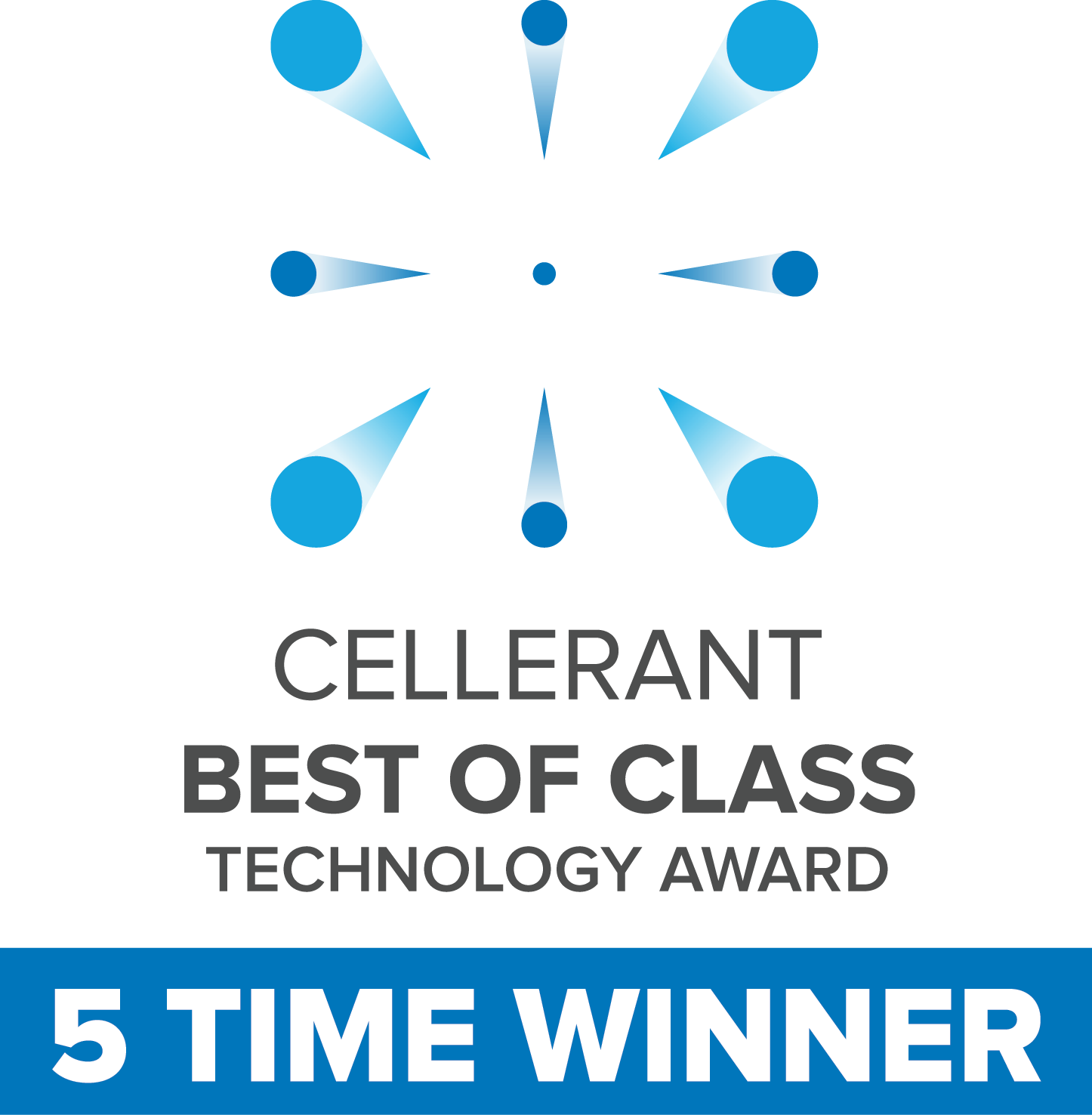 2019 Cellerant Award - 5 Time Winner
