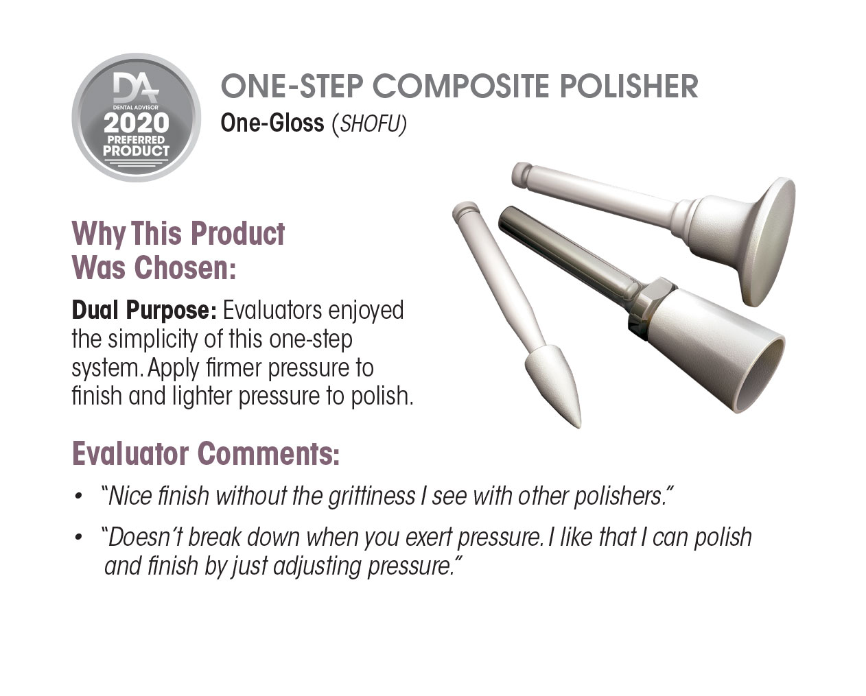 2020 One Step Composite Polisher One Gloss